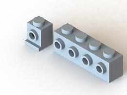 Lego Side-Stud Brick