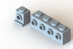 Lego Side-Stud Brick