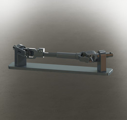 Cuplaj Cardanic (Universal Joint - Hooke's coupling) - Solidworks Compatible Parasolid file