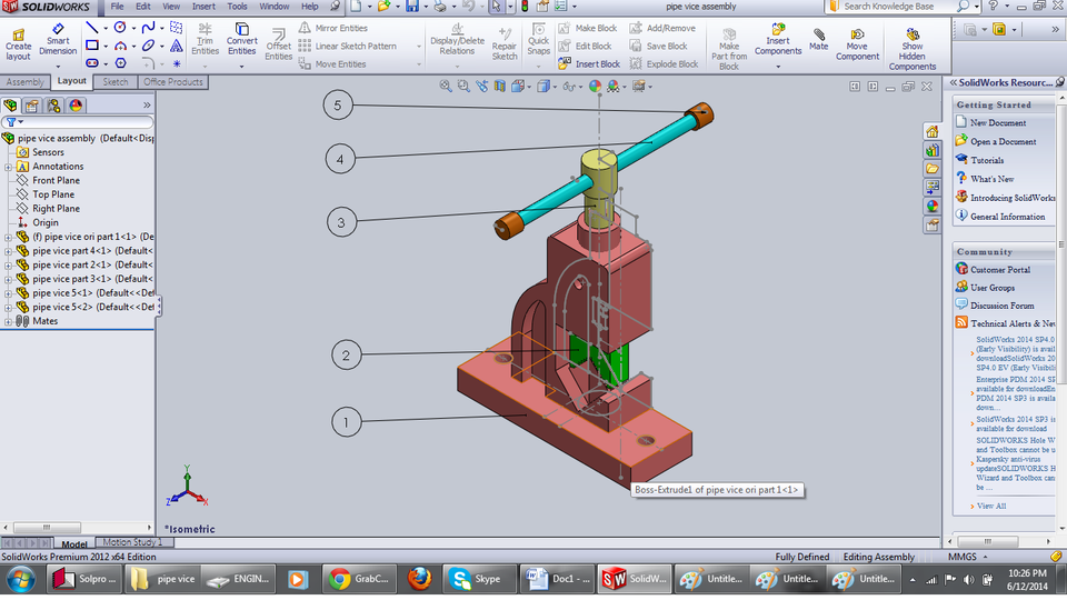 Assembly of pipe vice with complete detailed drawing 3d cad model assembly of pipe vice with complete detailed drawing 3d cad model library grabcad ccuart Choice Image