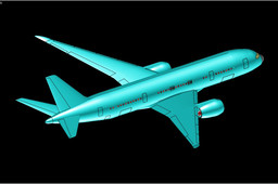 Boeing 787-8 Dreamliner Aircraft Solid Assembly Model (Updated)