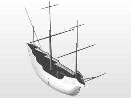 Peper wreck 3D model