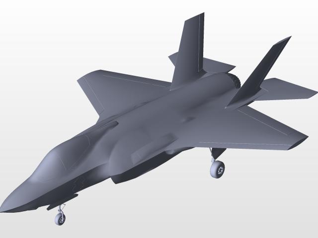 F35 | 3D CAD Model Library | GrabCAD