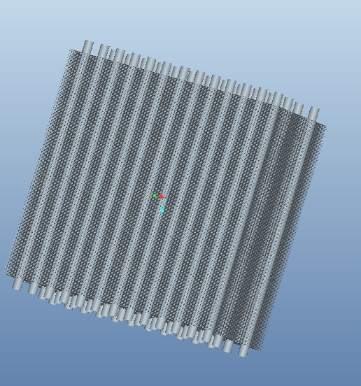 air cooled heat exchanger | 3D CAD Model Library | GrabCAD