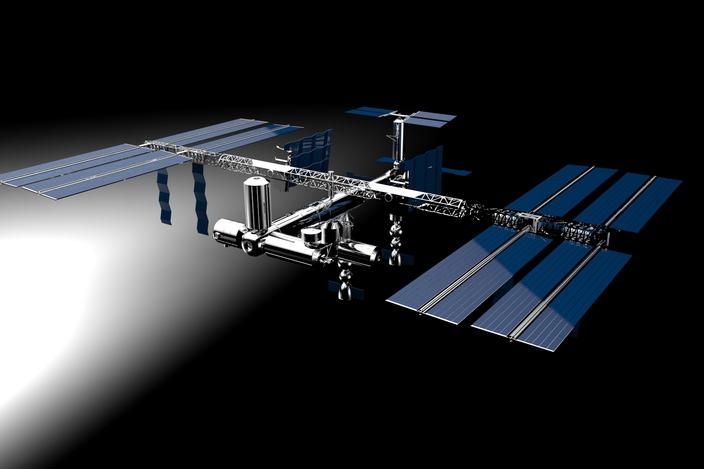 ISS - Solid Edge - 3D CAD model - GrabCAD