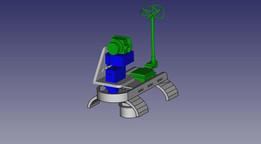 Glider FPV mount