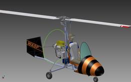 Model Of Girocopter