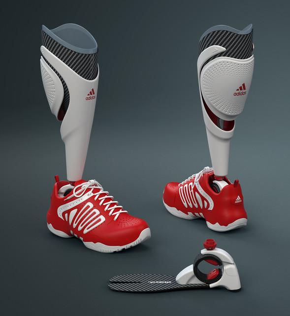 Prosthetic Grabcad Leg Adidas Model Library 3d Cad WRC8vwqwBx