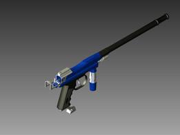 Spyder Paintball Gun