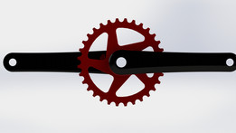 Mountain Bike Cranks With Chain Ring