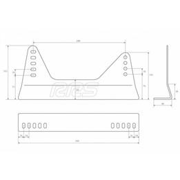 Seat brackets based on RRS brackets