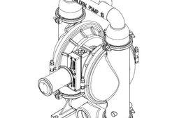 """3"""" Wilden PX15 Saniflo HS pump"""