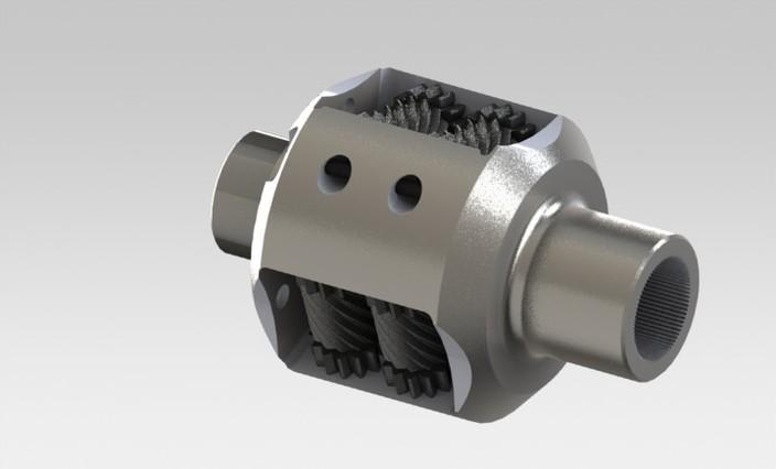 Torsen Differential - STL, SOLIDWORKS - 3D CAD model - GrabCAD