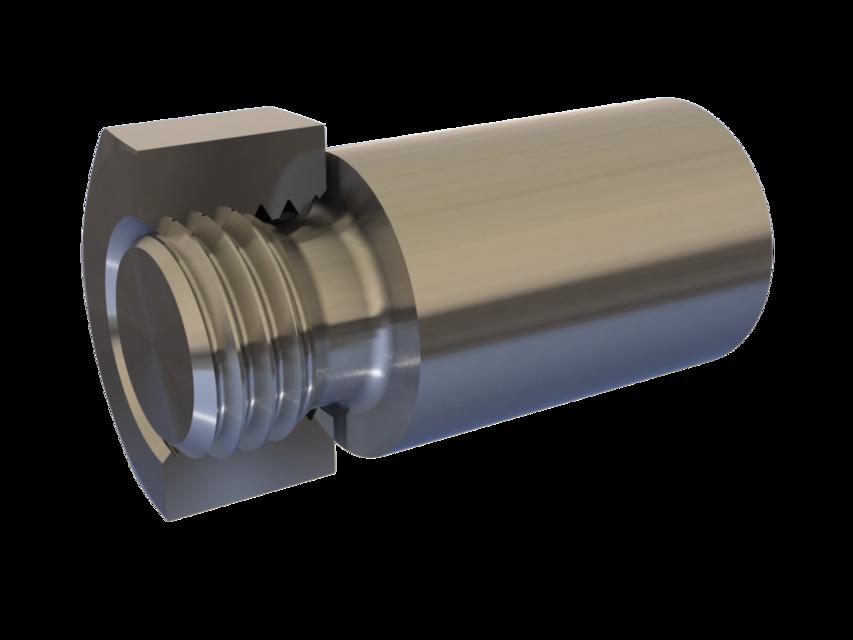 Metric Screw Thread Nut & Bolt - True ISO Profile - ANY Size | 3D
