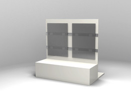 modular shelving for commerce