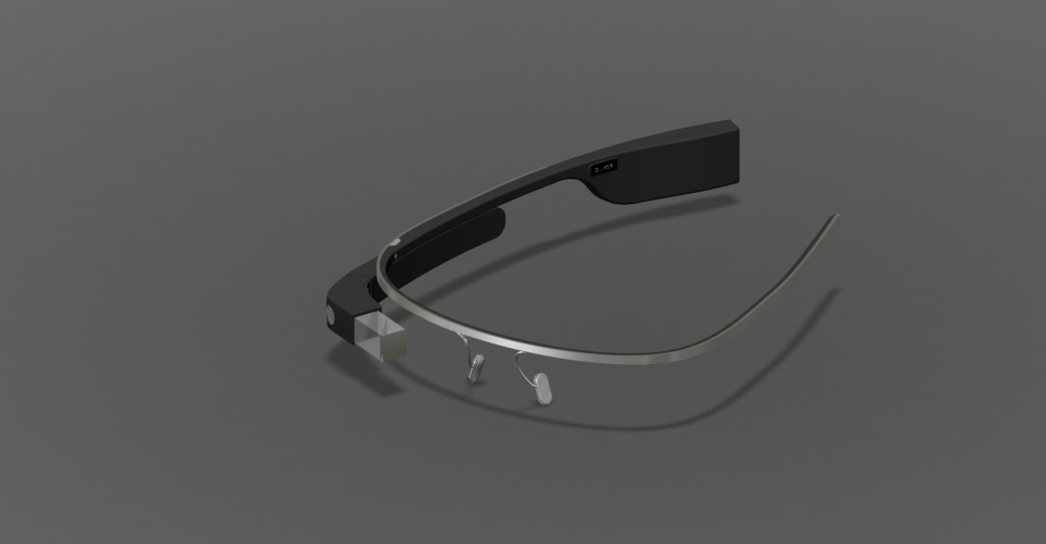 Google Glass Step Iges Fusion 360 3d Cad Model Grabcad