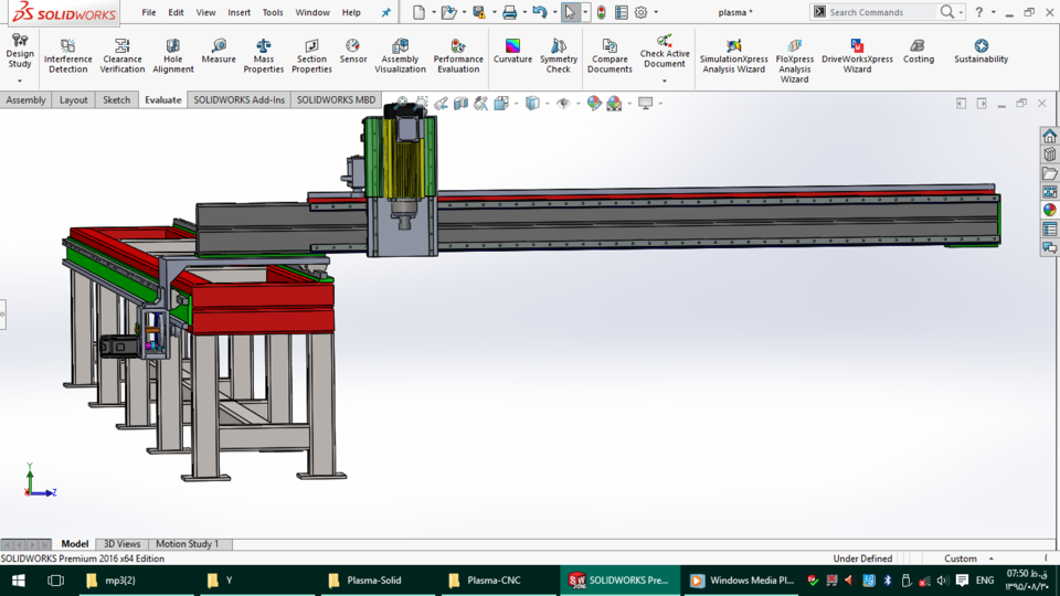 2-Purpose Huge CNC Machine | 3D CAD Model Library | GrabCAD