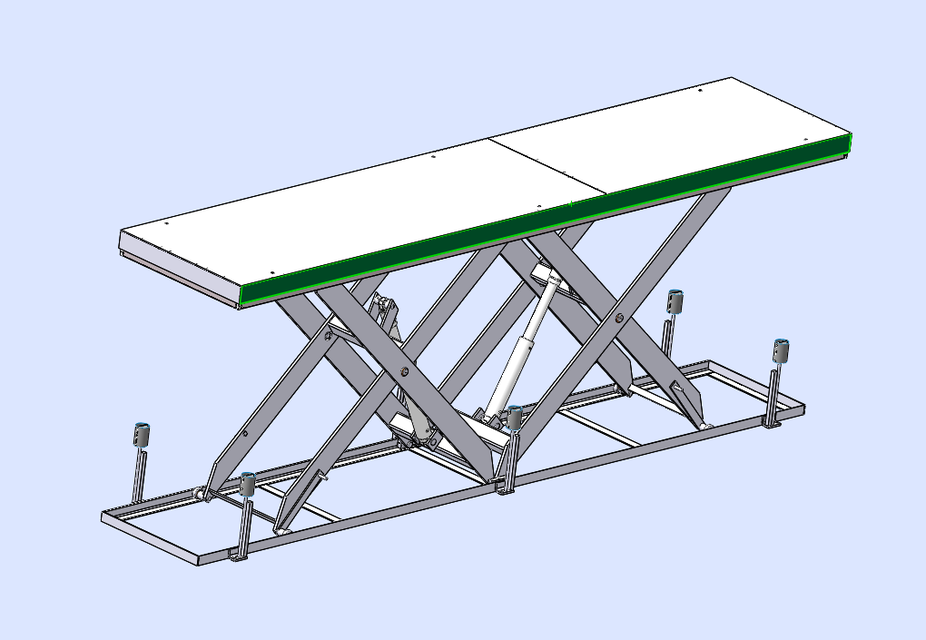 table elevatrice - solidworks - 3d cad model - grabcad