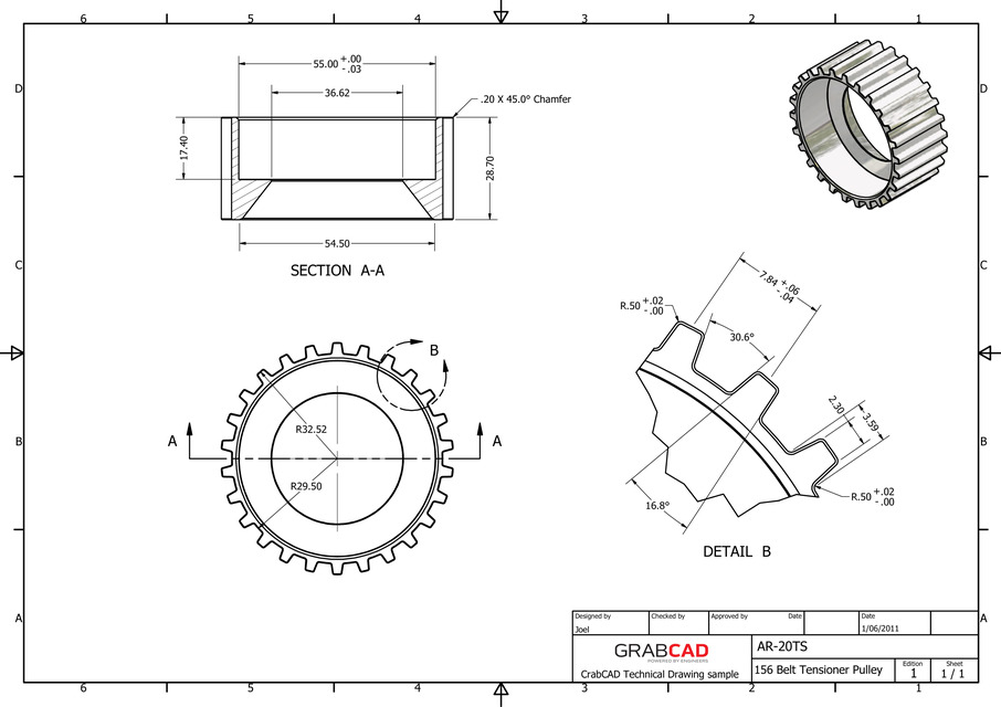 alfa romeo 156 2 0 timing belt tensioner pulley