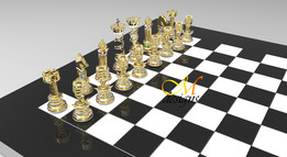 CHESS  (GOLD vs SILVER)