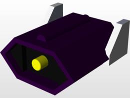 Transformers Shockwave Prototype Head Unit