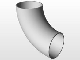 SOLIDWORKS, elbow - Most downloaded models | 3D CAD Model