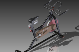 Health training bike by Autodesk Inventor