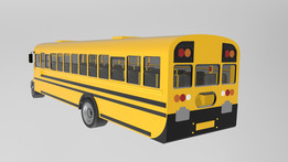 Blue Bird 2015 School Bus