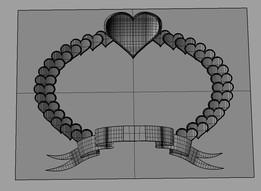 heart in an ellipse