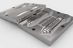 Injection Molding Tool Design (Core, Cavity & Components)