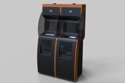 Multifunctional bank terminal/vending terminal