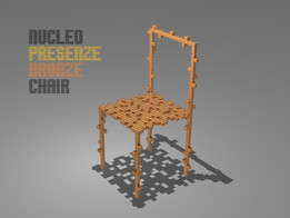 Nucleo Design Presenze Bronze Chair