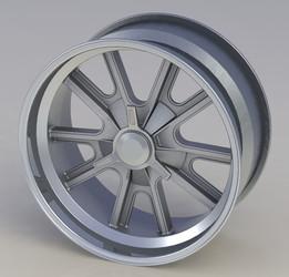 Wheel - AC Cobra 17x8