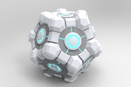 The Parametric twelve sided companion cube.