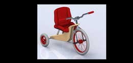 children tricycle / Triciclo Infantil