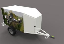 trailer for aeromodelling