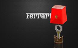 PISTON LAMP with FERRARI theme