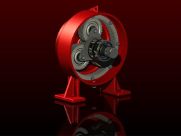 Complete planetary gearbox