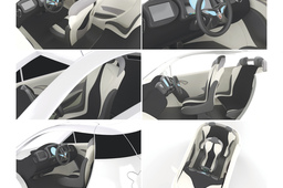 Dok-ing XD - concept city EV interior design