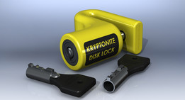 KRYPTONITE Disk Lock (warrior lock)