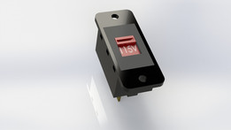 Panel Mount Voltage Slide Switch