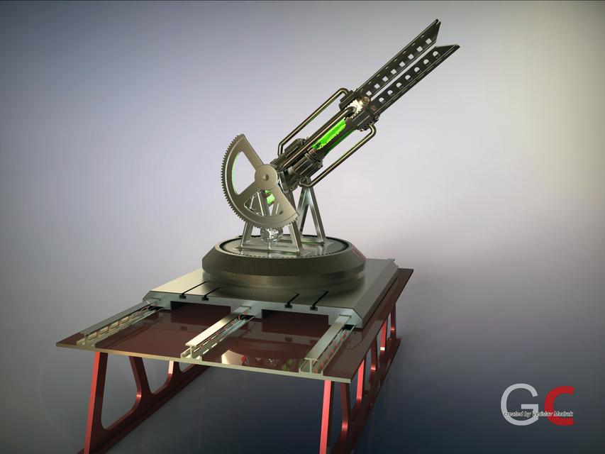 Tesla Cannon | 3D CAD Model Library | GrabCAD