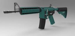 M4A4 RIFLE (conceptual model)