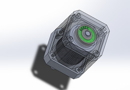Detailed Stepper Motor (Nema ##)