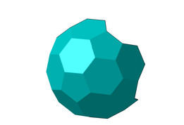 hexagonal shell
