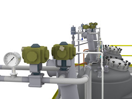 Industrial Process Plant