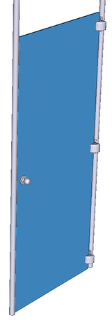 Design for door type a - Interuptable damper