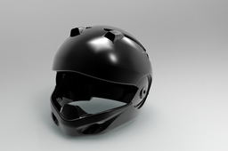 outer shell full face helmet