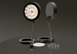 98mm x 18 LED - 7W PCB + Lenses