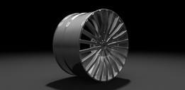 Wheel concept - 03 Convex style